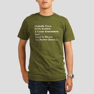 Caddyshack 2 Sided Organic Men's T-Shirt (dark)