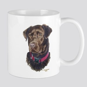 Java, Chocolate Labrador Mug