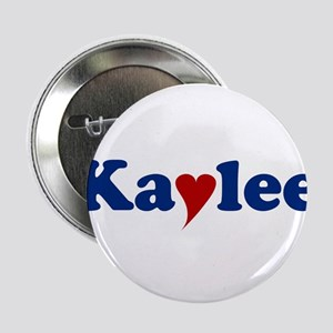 """Kaylee with Heart 2.25"""" Button"""