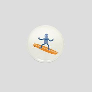 Surfing Robot Mini Button