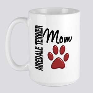 Airedale Terrier Mom 2 Large Mug