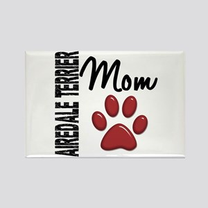 Airedale Terrier Mom 2 Rectangle Magnet