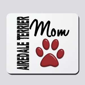 Airedale Terrier Mom 2 Mousepad