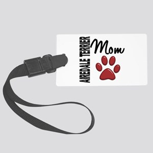 Airedale Terrier Mom 2 Large Luggage Tag