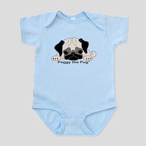 Peggy The Pug TM Infant Bodysuit