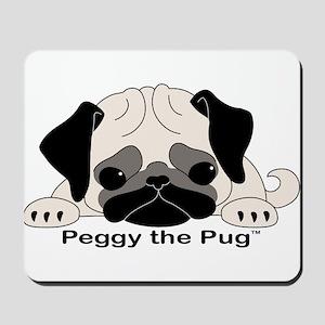 Peggy The Pug TM Mousepad