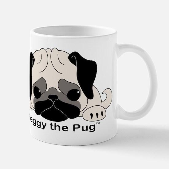 Peggy The Pug TM Mug