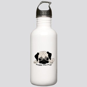 Peggy The Pug TM Stainless Water Bottle 1.0L