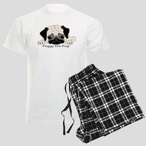 Peggy The Pug TM Men's Light Pajamas