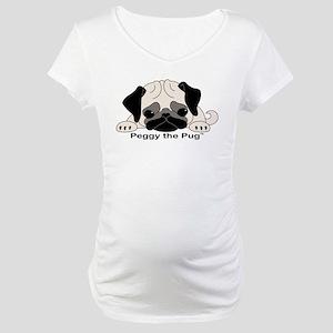 Peggy The Pug TM Maternity T-Shirt