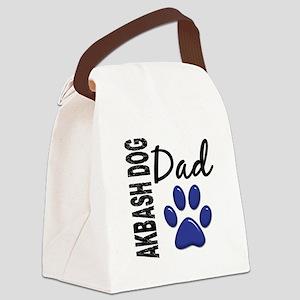 Akbash Dog Dad 2 Canvas Lunch Bag