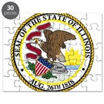 Seal of Illinois Puzzle