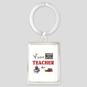 Teachers Do It With Class Portrait Keychain