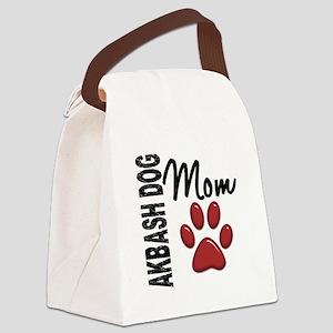 Akbash Dog Mom 2 Canvas Lunch Bag