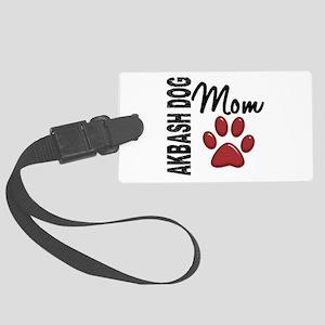 Akbash Dog Mom 2 Large Luggage Tag
