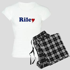 Riley with Heart Women's Light Pajamas