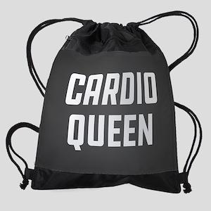 Cardio Queen Drawstring Bag