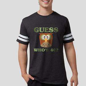Guess Who's 40 Mens Football Shirt