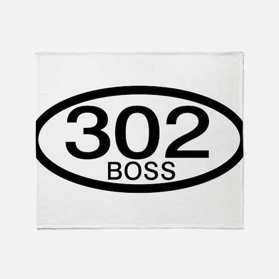 Boss 302 c.i.d. Throw Blanket