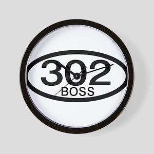 Boss 302 c.i.d. Wall Clock