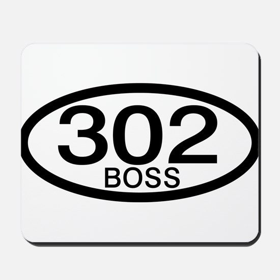 Boss 302 c.i.d. Mousepad