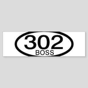 Boss 302 c.i.d. Sticker (Bumper)
