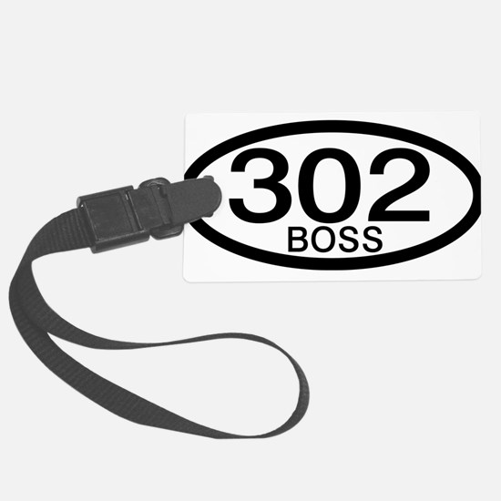 Boss 302 c.i.d. Large Luggage Tag
