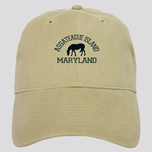 Assateague Island MD - Ponies Design. Cap
