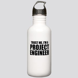 Trust Me, I'm A Project Engineer Water Bottle