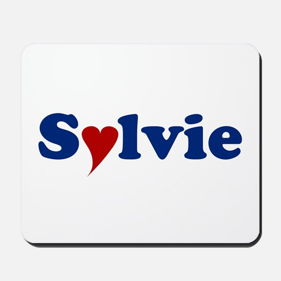 Sylvie with Heart Mousepad