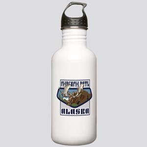 Chugach Mountaintop Moose Stainless Water Bottle 1