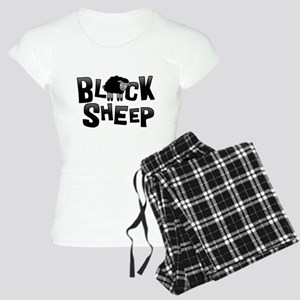 Black Sheep Dark Women's Light Pajamas