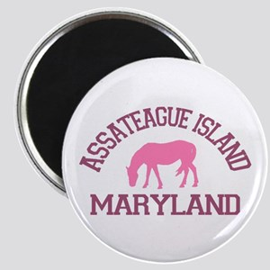 Assateague Island MD - Ponies Design. Magnet