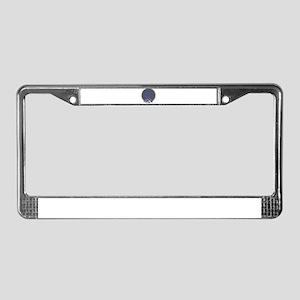 Circle boat License Plate Frame