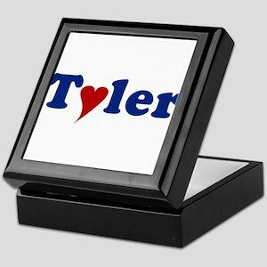 Tyler with Heart Keepsake Box