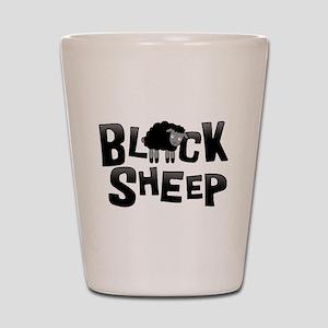 Black Sheep Dark Shot Glass
