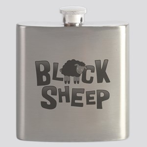 Black Sheep Dark Flask