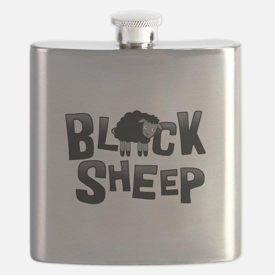 Black Sheep Dark Flask