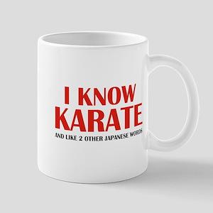 I Know Karate Mug