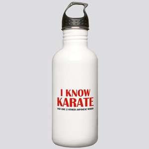 I Know Karate Stainless Water Bottle 1.0L