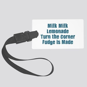 Milk Milk Lemonade Large Luggage Tag
