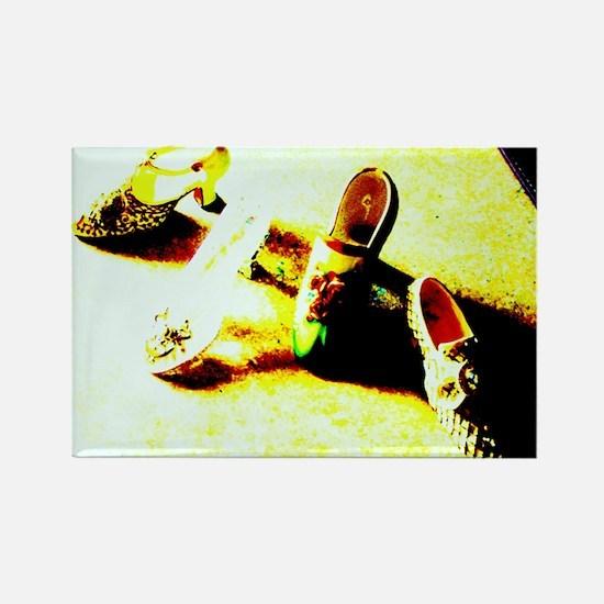 ONU Shoes Art Rectangle Magnet (10 pack)