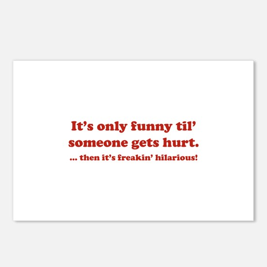 Then itt's freakin' hilarious! Postcards (Package