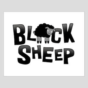 Black Sheep Dark Small Poster