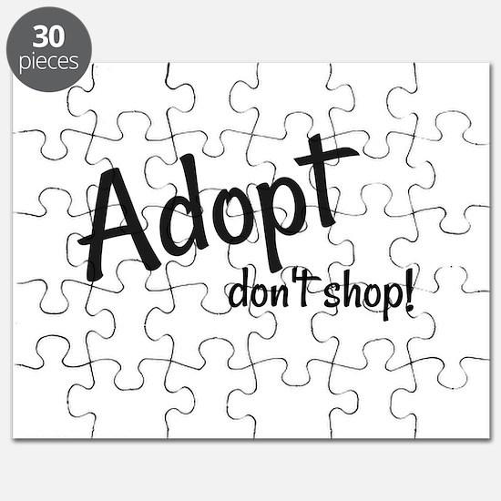 Adopt. Don't shop! Puzzle