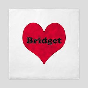 Bridget Leather Heart Queen Duvet