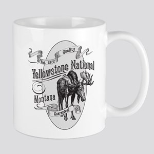 Yellowstone Vintage Moose Mug