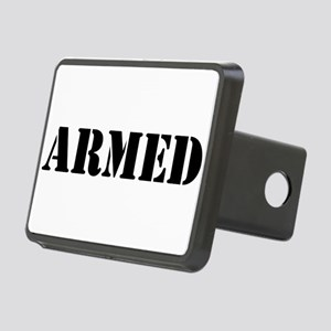 Armed Rectangular Hitch Cover