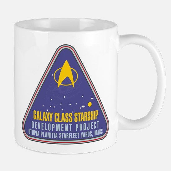 STAR TREK TNG Galaxy Mug
