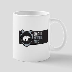 Glacier Arrowhead Badge Mug